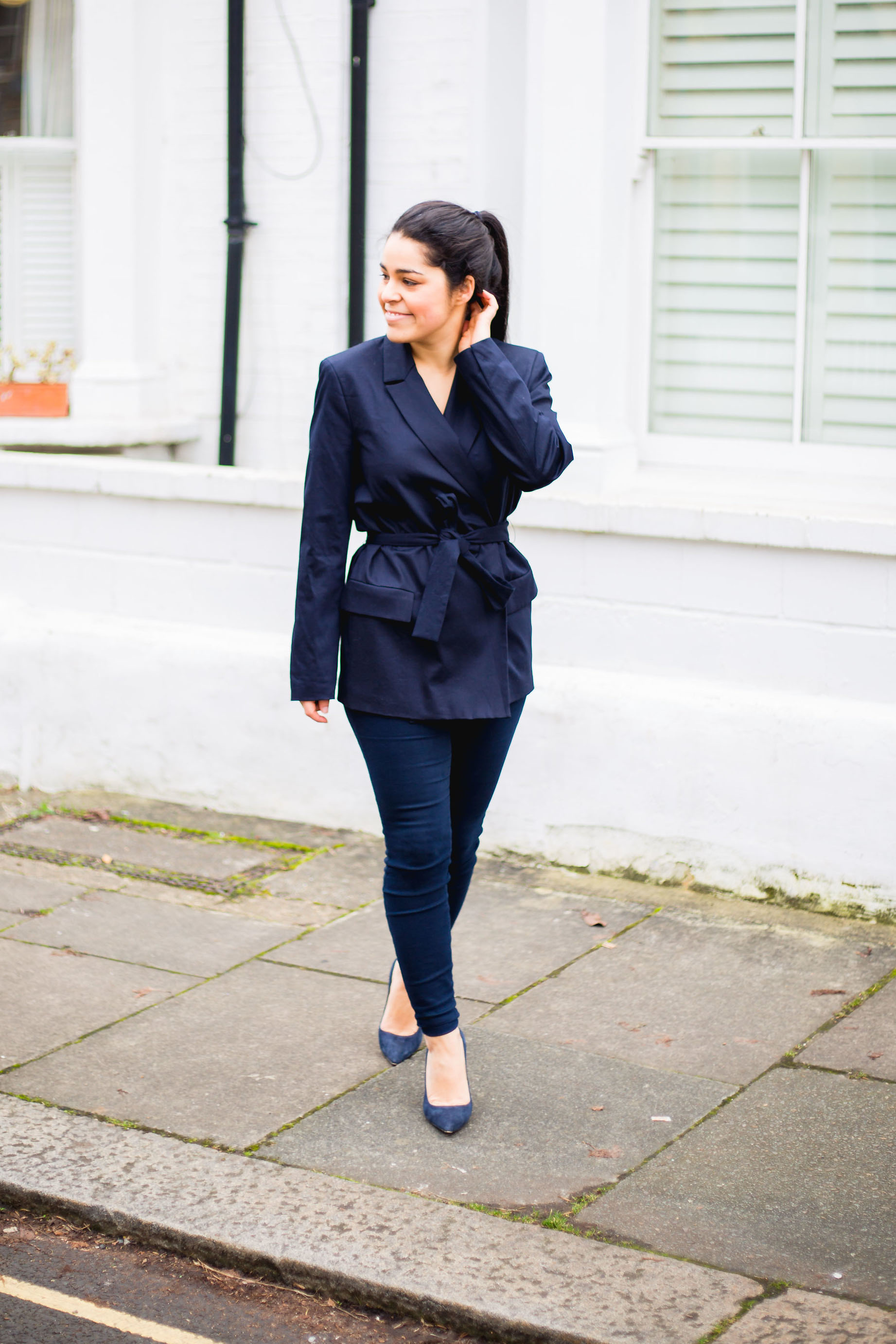 The Navy Blazer
