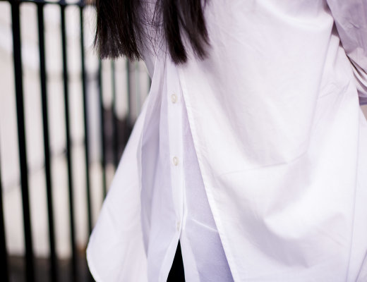 Finding The Perfect White Shirt