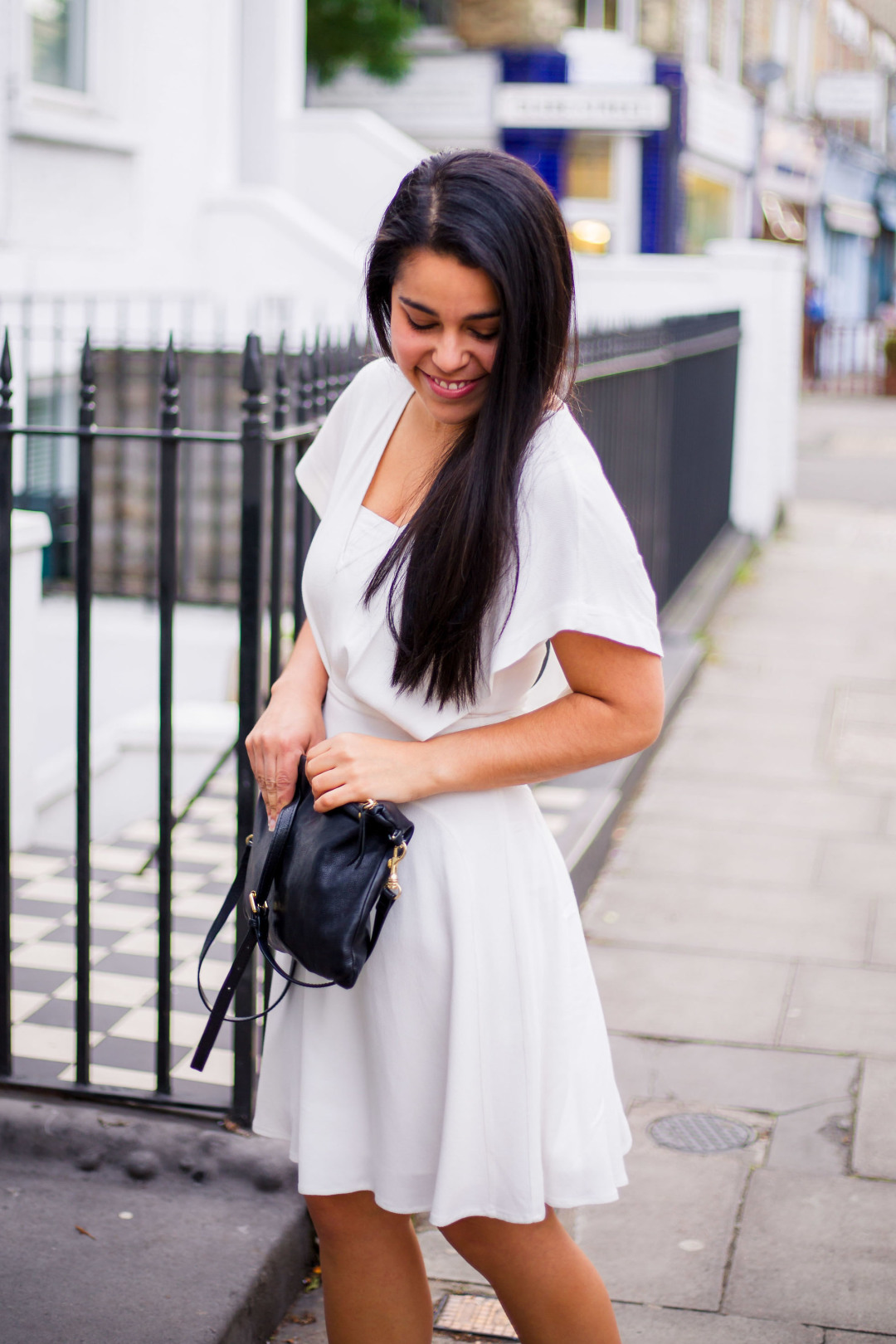 The Litte White Dress