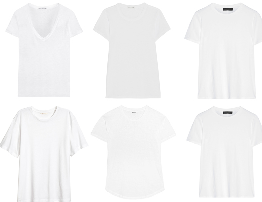The Perfect White T-Shirt