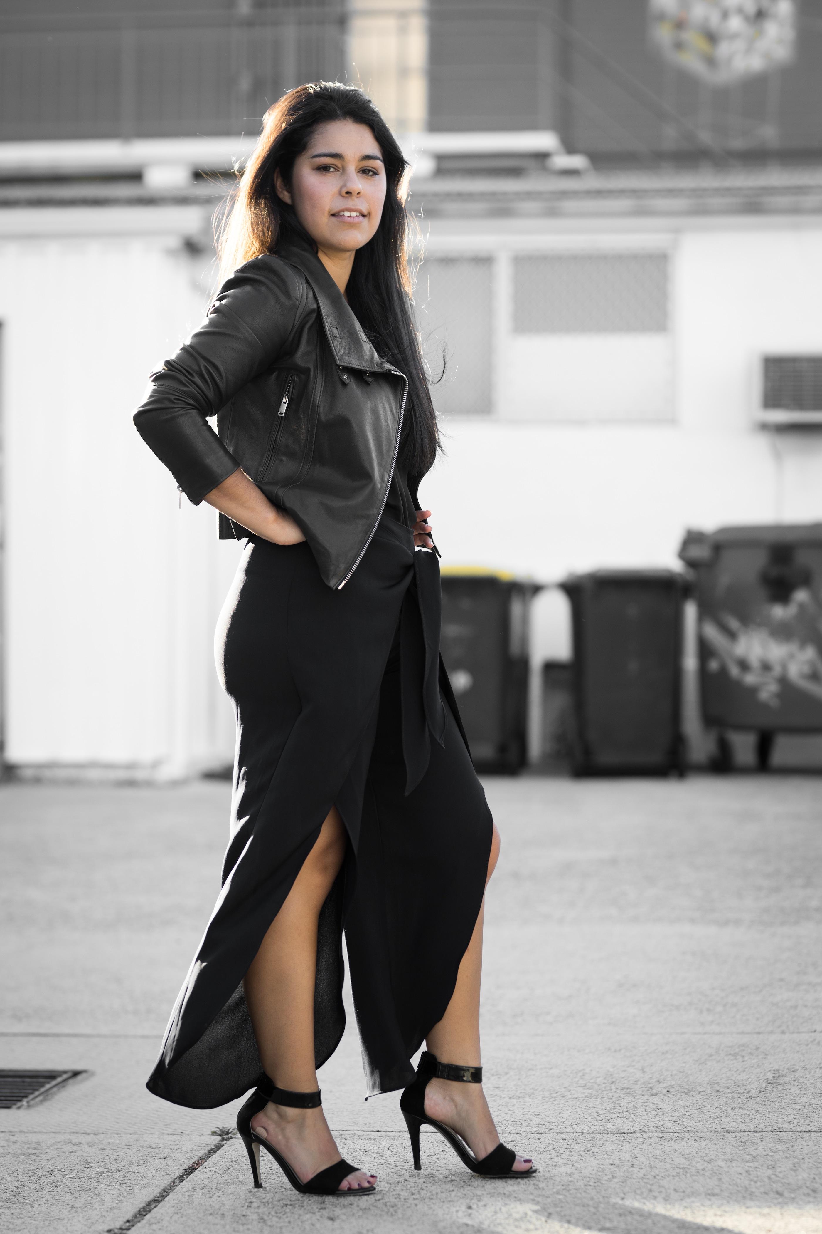 Minimalist Leather Jacket